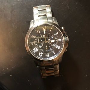 Fossil Space Gray Mens Watch